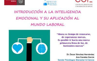 TALLER DE INTELIGENCIA EMOCIONAL APLICADO AL MUNDO LABORAL